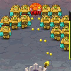 Touch castledefense html5 screen 240x320 4