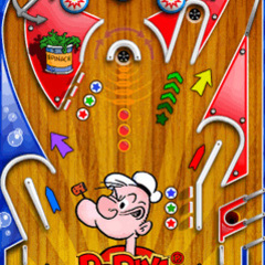 Touch popeyepinball screenshot 240x320 en 04